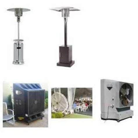 Patio Heaters Rentals Outdoor Air Cooler Patio Heaters Rental In Dubai Coolmaster Dubai Uae