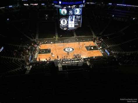 Barclays Center Section 209 Brooklyn Nets
