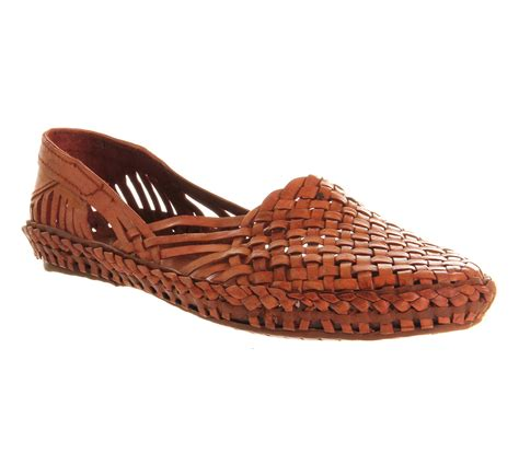 poste hurrache loafer camel casual