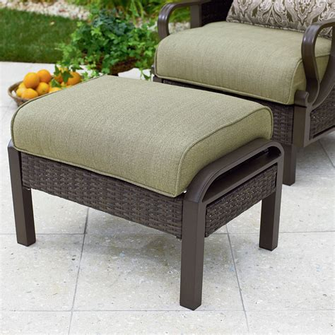 outdoor ottomans get patio ottomans and footstools at sears