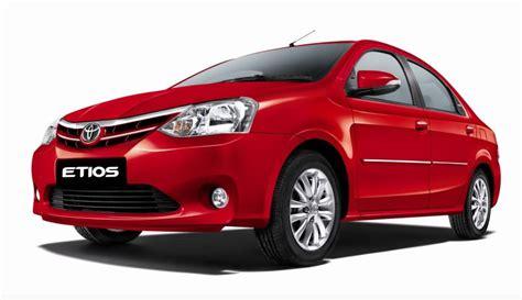 toyota website india toyota etios and etios liva updated car india