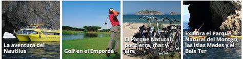 alquiler de apartamentos en el estartit  propuestas turisticas  disfrutar la zona