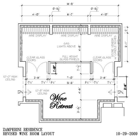 winery floor plans wine cellar