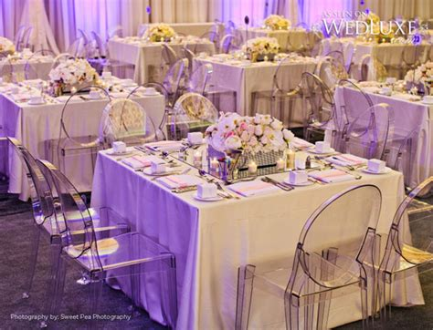 luxury lavender and silver wedding reception decorations archives weddings romantique
