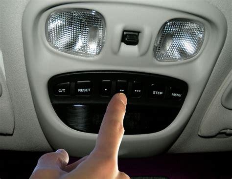 Jeep Garage Door Opener Jeep Grand Wj Homelink