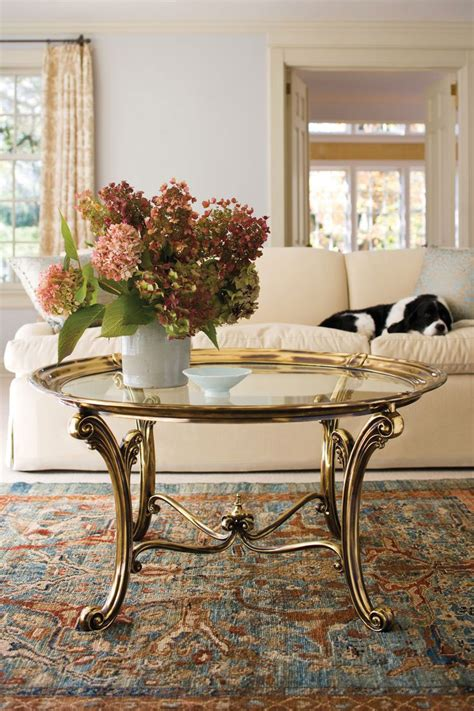 Brass Table Ls For Living Room Brass Coffee Tables Wrought Iron Coffee Tables And Carved Coffee Tables