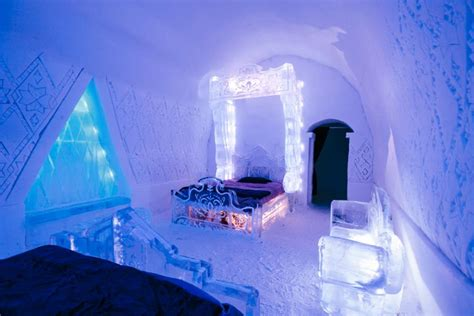 hotel de glace canada romantic canadian holiday getaways lifestyle