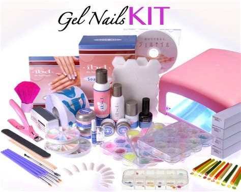 gel nail kit dazzle and sizzle my complete gel nail kit