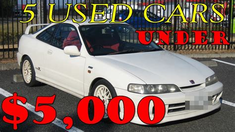 Cheap Cars 5000 by Top 5 Best Cheap Used Cars 5000