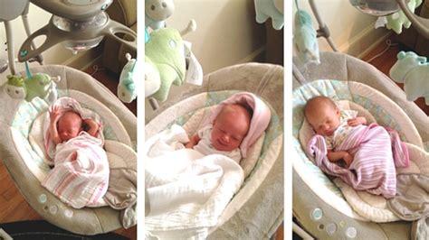 baby in swing all night baby registry essentials ashley sweeney rd