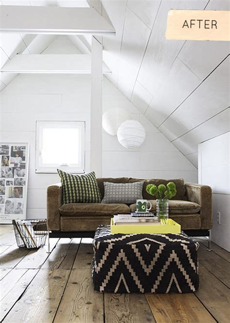 Small Living Room Remodel Before And After Before After Minneapolis Attic Makeover Design Sponge