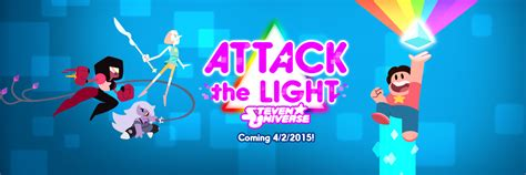 Attack The Light Steven Universe by Image Attack The Light Promo Banner Png