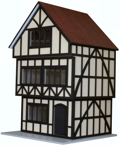 tudor houses 12th scale tudor ready to assemble unpainted dolls house