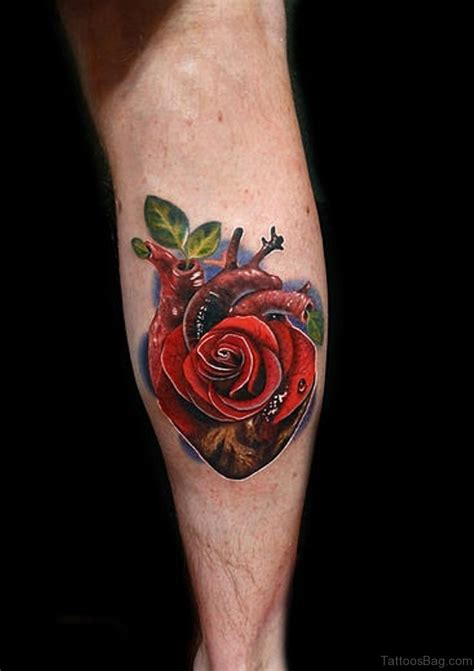 tattoo style rose 36 fancy tattoos on leg
