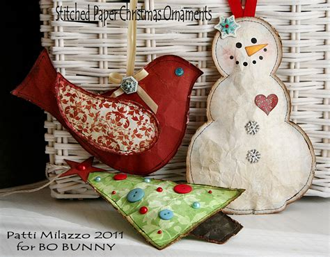 home made christmas decoration bobunny handmade christmas ornaments