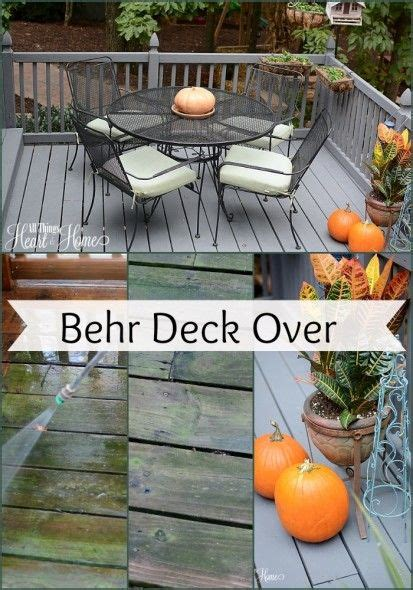 images  behr deckover  pinterest stains