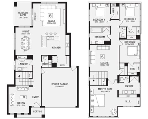 metricon homes floor plans salamanca 33 new home floor plans interactive house plans