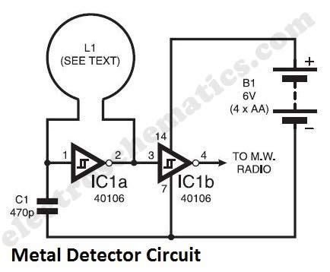 Saklar Switch Medium 4 Pin simple metal detector circuit repository next gr