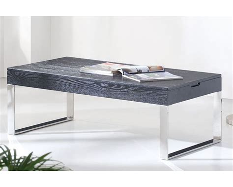 Contemporary Black Coffee Tables Contemporary Style Coffee Table In Black Or White 33ct101