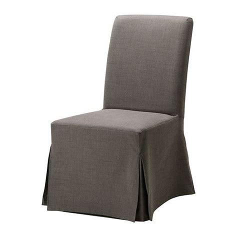 henriksdal slipcover henriksdal chair cover long blekinge white
