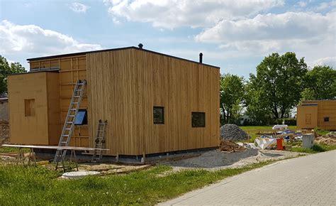 Neues Gesundes Bauen by Minihaus Baustelle 07 2017 Neues Gesundes Bauen