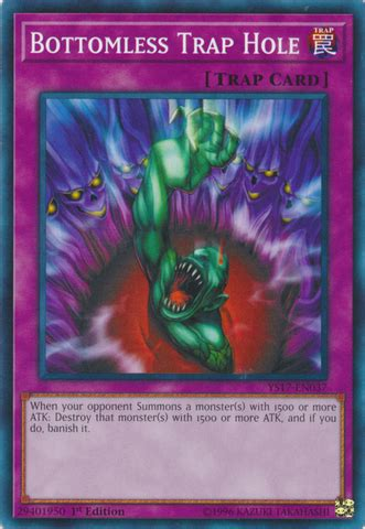 Link Spider Ys17 En043 1st Edition bottomless trap ys17 en037 common 1st edition yu gi oh singles 187 link strike arg