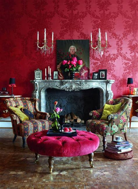 wandgestaltung rot farbgestaltung rot galerie