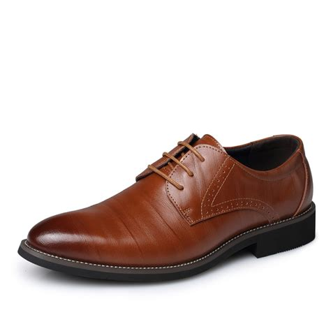 Genuine Leather Dress Shoes new fashion genuine leather dress shoes