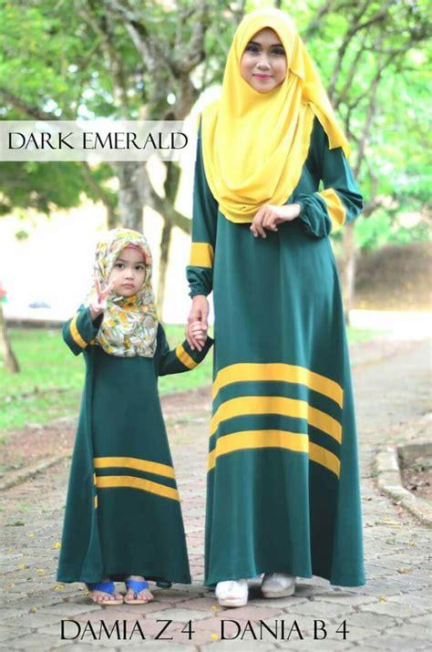 baju ibu dan anak sedondon untuk muslimah jubah sedondon anak dan ibu jubah dania ibu damia kanak