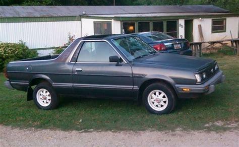 1986 subaru brat gl 1986 subaru brat gl 4x4 pickup