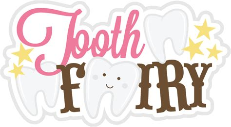 Free Software Mailed To Me At Home tooth fairy title svg scrapbook title tooth fairy svg file