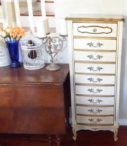 vintage 5 drawer lingerie chest french provincial shabby