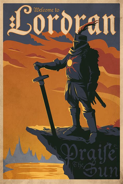 dark posters sweet dark souls posters look suitably satisfying