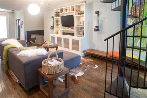 living room center rustic built in entertainment center living room modern