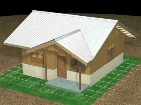 membuat gambar rumah 3d belajar animasi rumah sederhana youtube