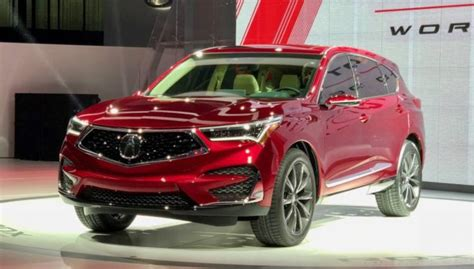 2019 Acura Rdx Changes by 2019 Acura Rdx Prototype Redesign Changes Price Release Date