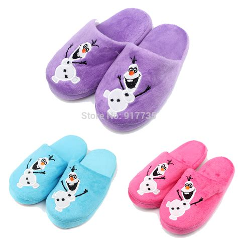 boys slippers new arrival children winter olaf slipper boys