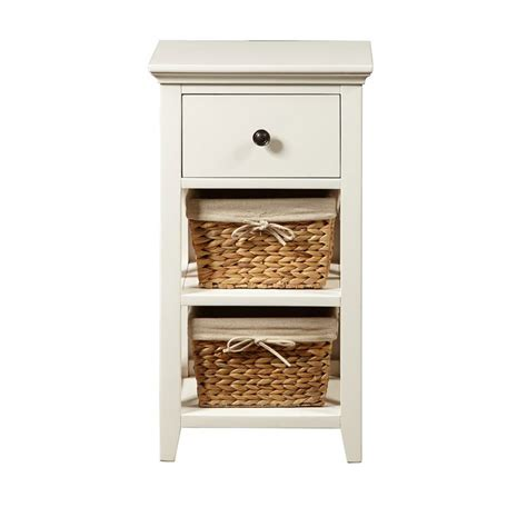 bathroom accent tables bathroom storage accent w baskets linen towers and