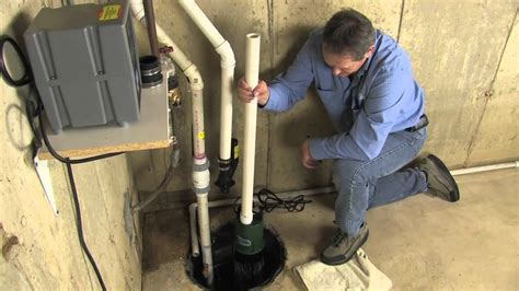 basment watchdog ac sump installation how to install