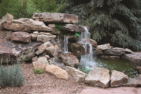 building a waterfall in your yard roaring fork lifestyle