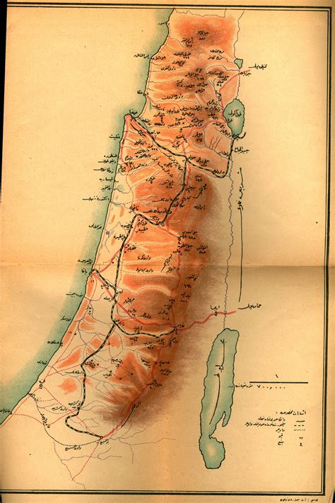 ottoman palestine afternoon map ottoman and arab maps of palestine 1880s 1910s