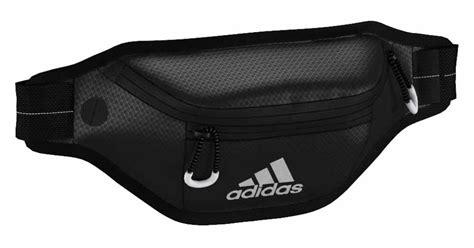 Waist Pack Adidas Black Greenlight adidas running load 3 stripe waistpack black silver met