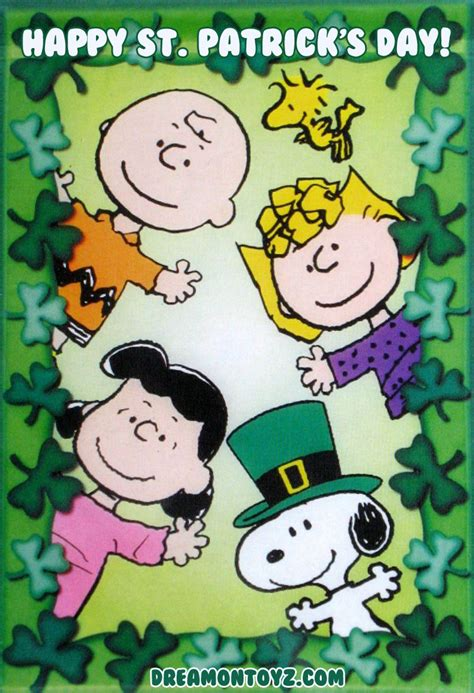 happy s day brown peanuts books comics friends comics book patricks day