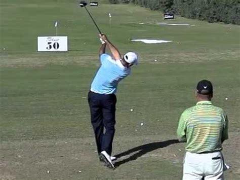 alvaro quiros swing alvaro quiros golf swing driver slow motion down the