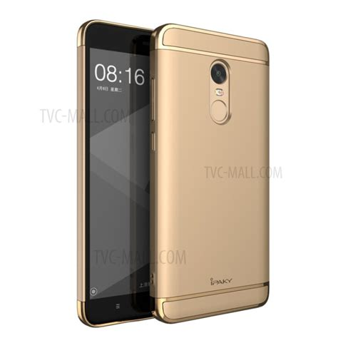Electroplating Xiaomi Redmi 4x 3in1 Redmi 4x ipaky 3 in 1 electroplating pc mobile phone for