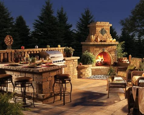 30 ideas for outdoor fireplace and grill home decorating diy