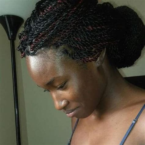 Senegalese Twist Updo Hairstyles by 60 Cool Twist Braids Hairstyles To Try