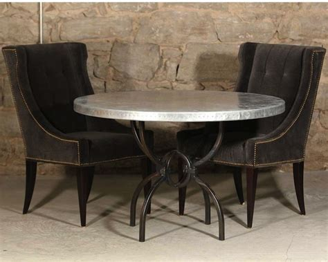 Rectangle Glass Dining Room Table by Round Wrought Iron Dining Tables Timeless Wrought Iron
