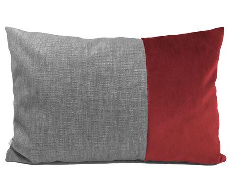 sofakissen 40x60 grau rot n 228 hh 246 rnchen der onlineshop
