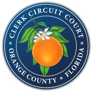 Orange County Clerk Of Court Records My Orange Clerk Home